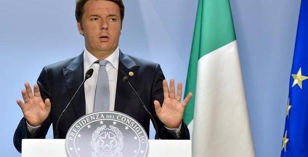 L'italie prevoirait davantage de deficit et de dette pour 2016