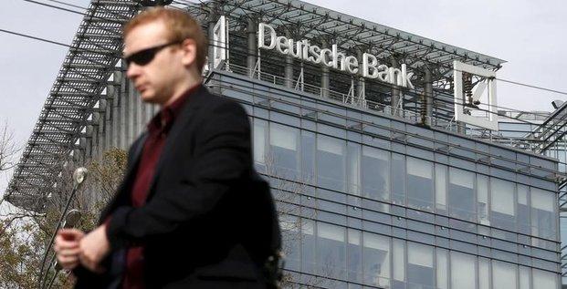Deutsche bank reduit ses activites en russie