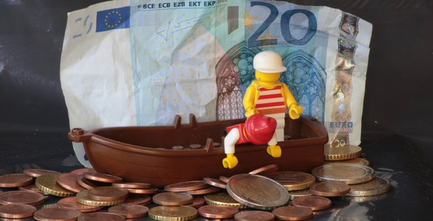 Economiser de l'argent, épargner des euros. Phishing par kleuske. Via Flickr CC License by.