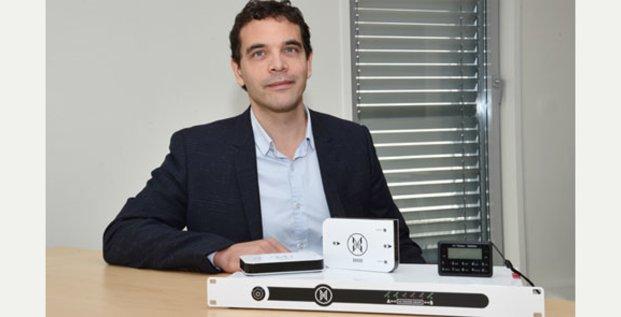 Xavier Facélina conçoit une gamme d'appareils destinés à protéger les sites sensibles contre les cyberattaques