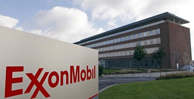 Forte baisse du benefice d'exxonmobil