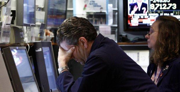 Bourse chute