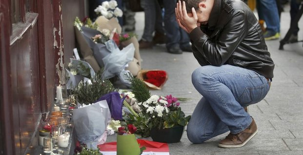 Serie d'attentats sans precedent en france