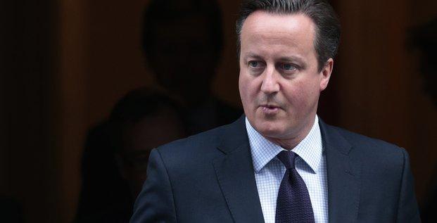 David cameron pour des frappes britanniques en syrie