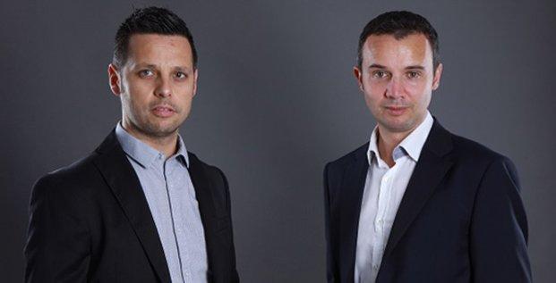 John Aldon et Frédéric Salles, co-fondateurs de Matooma