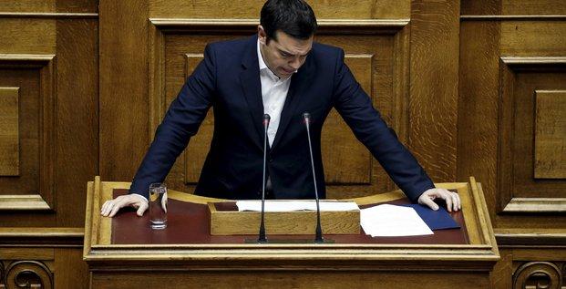Le projet de budget du gouvernement tsipras adopte en grece