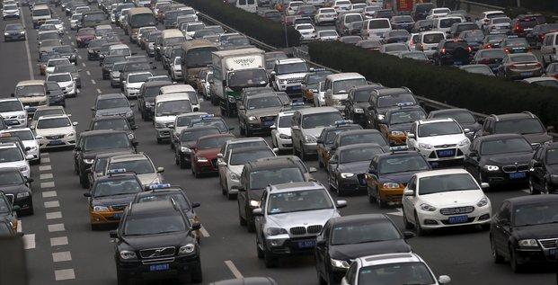 Les ventes de voitures ont bondi en chine en novembre