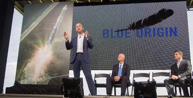 Bezos Blue Origin, Jeff Bezos, fusée Blue Origin, Donald Trump, Amazon, voyage spatial, Twitter, campagne présidentielle américaine, Etats-Unis, djihad, musulmans, attentats terroristes, Washington Post, optimisation fiscale, Washington Post,