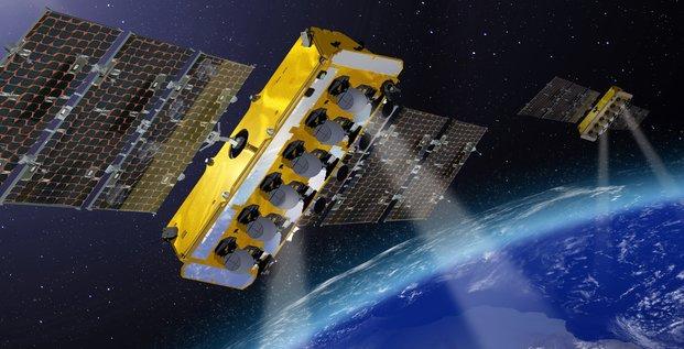 O3B constellation de satellites Thales Alenia Space
