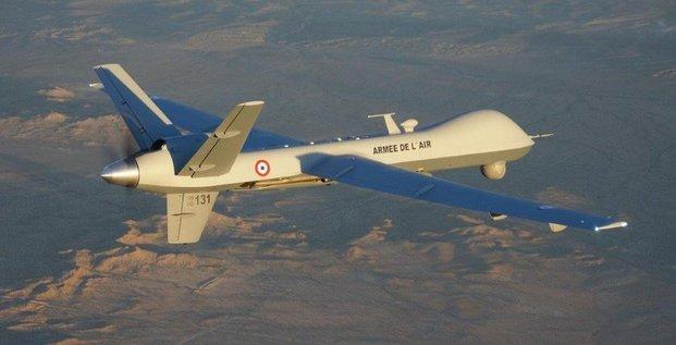 Reaper drone MALE armée de l'air française Barkhane