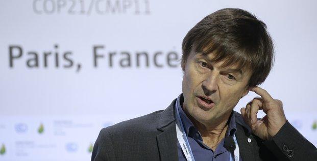 COP Hulot, Fondation Nicolas Hulot, COP21, Paris, protection de la planète, environnement, réchauffement climatique, Le Bourget, 2015.12.07,