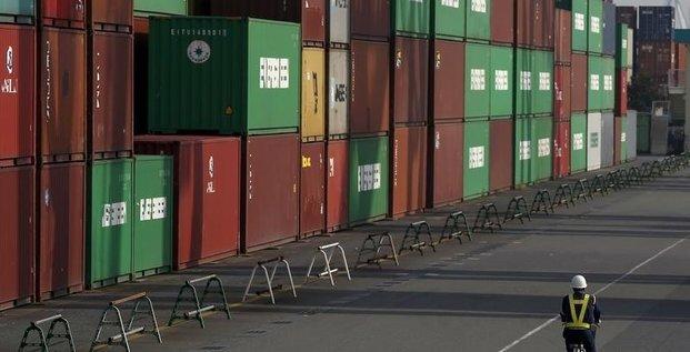 Net recul des exportations du japon