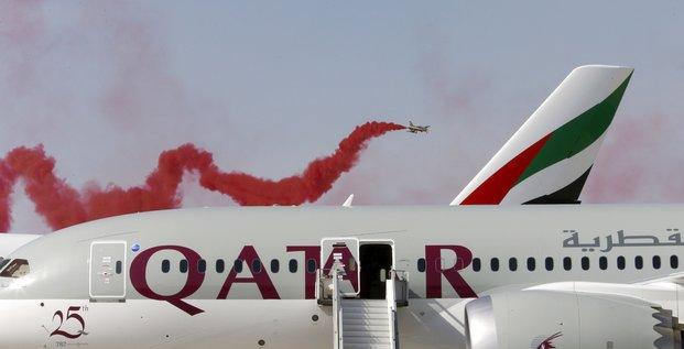 Qatar Airways, compagnies du Golfe, Dubai Airshow,