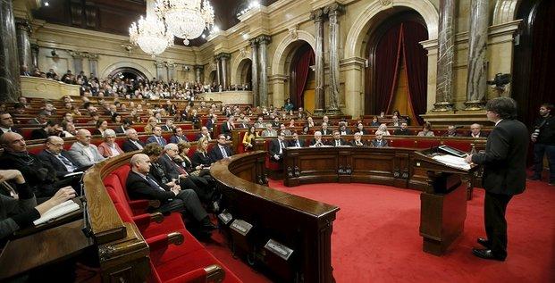 Catalmogne parlement