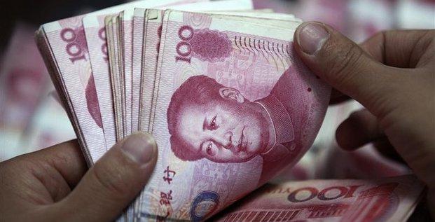 Nouvelle baisse des reserves de change de la chine