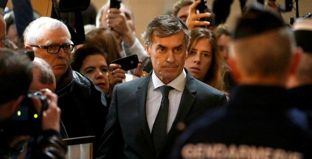 Jerome Cahuzac devant le tribunal correctionnel de paris