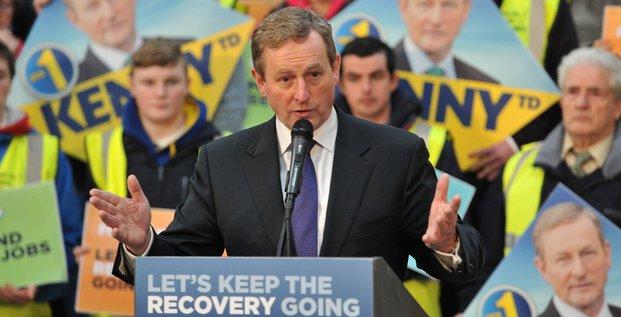 Enda Kenny, 2016.02.20, Irlande, élections, Dail, parlement irlandais, Fine Gael, Premier ministre,