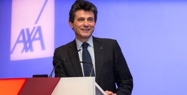 Henri de Castries, Axa, assurance, 2015.02.25,