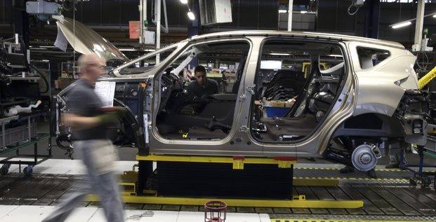 Douai, Renault, usine Georges-Besse, chaîne d'assemblage, Nord-Pas-de-Calais-Picardie, Lille,