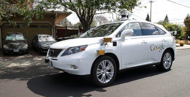 self driving google