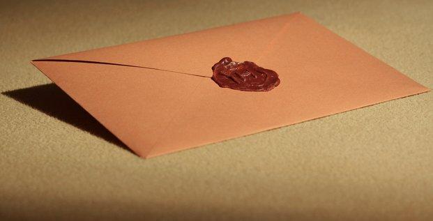 Lettre avec cachet. list z Hogwartu par Arek Olek. Via Flickr CC License by