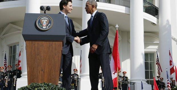 Obama et Trudeau