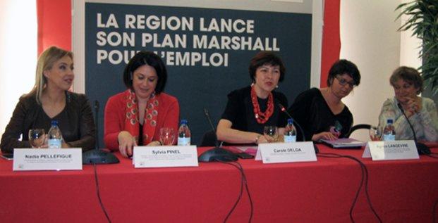 Carole Delga Plan Marshall