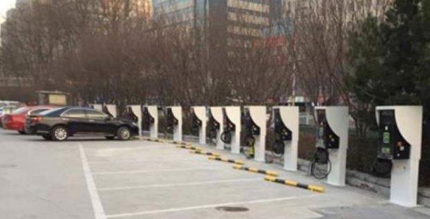 Les wall-box d'IES Synergy installées à Pékin.