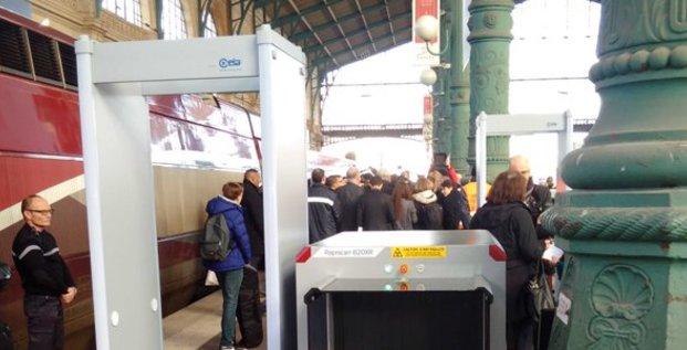 portiques Thalys