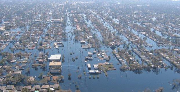 Nouvelle-Orléans, inondation, ouragan Katrina, 2005,