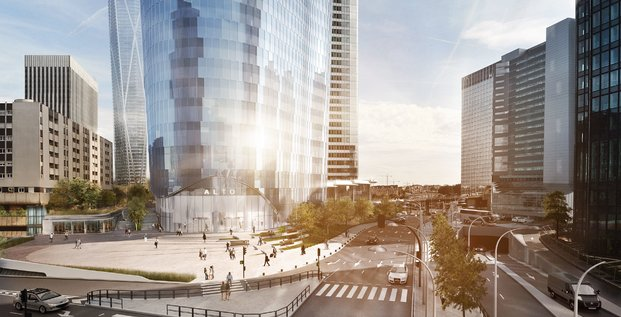 Tour Alto, La Défense, UBS, Interfaces Architecture, SRA-Architectes, grande hauteur, BTP, Bouygues Construction,