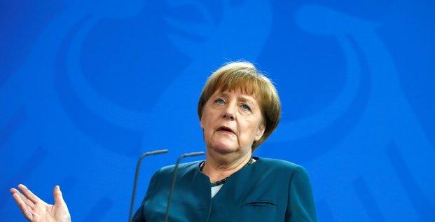 Angela merkel appelle les etats europeens a agir davantage pour la croissance