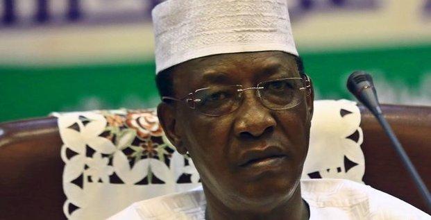 Idriss deby reelu president du tchad