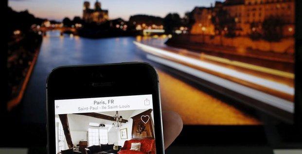 AirBnB, Ile de la Cité, Paris, France, immobilier, hotels, concurrence, taxe, villes, location entre particuliers de courte durée, plateforme internet, économie collaborative, mairie, logement, résidence principale,