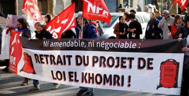De nouvelles actions contre la loi travail prevues