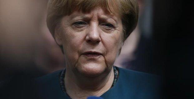 Un 4e mandat de merkel accueilli froidement par les allemands