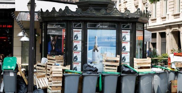 déchets grève poubelles