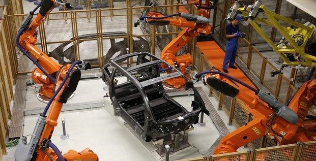Rebond de 1,1% de la production industrielle en avril en zone euro