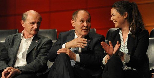 Discussion entre Jean-Louis Etienne, René Ricol et Léna Geitner à l'occasion du 10e Prix de l'esprit d'entreprendre