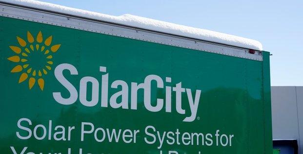 Tesla veut racheter solarcity