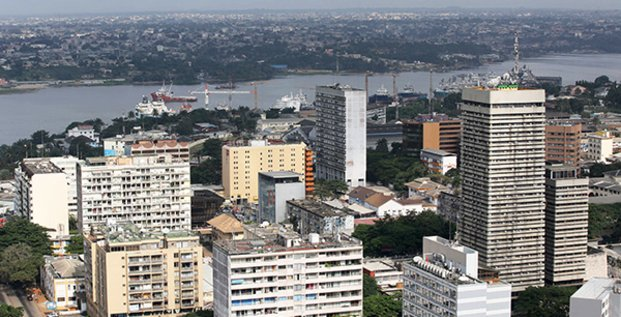 Une vue d'Abidjan, capitale économique de la Côte d'Ivoire.
