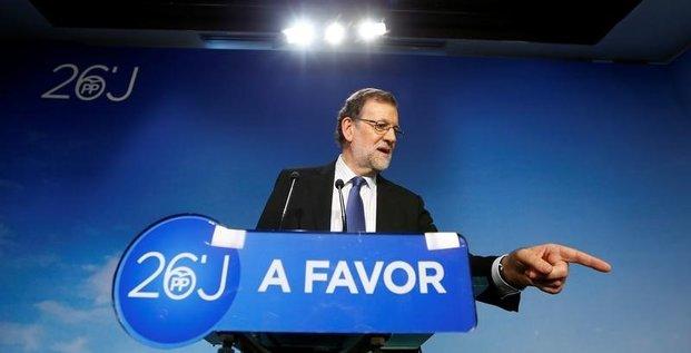 Mariano rajoy tente de former un gouvernement en espagne