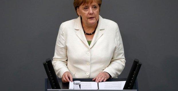 Angela merkel met en garde londres sur le brexit