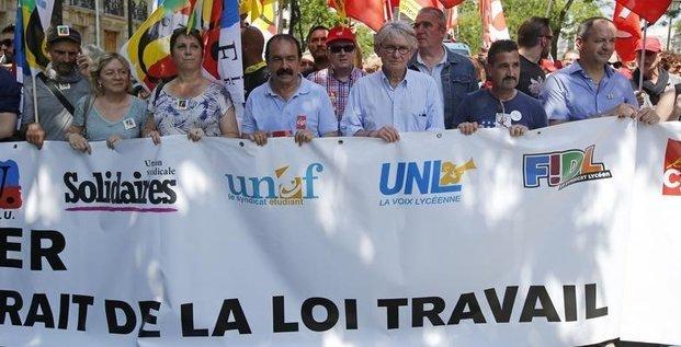 La manifestation de mardi a paris contre la loi travail autorisee