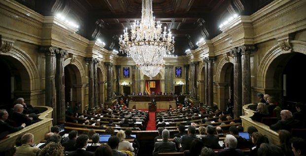 parlement Catalogne