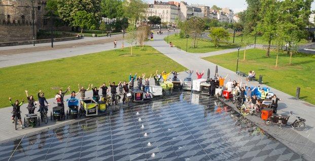 Les boîtes à vélo, collectif, Nantes, Eloumou Zoa, Léandre Gaudier,
