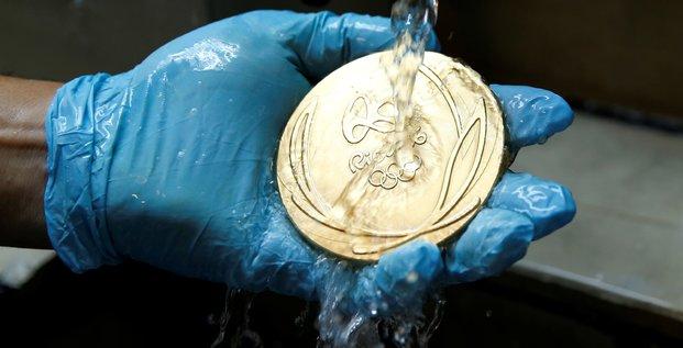 médaille or Rio JO 2016