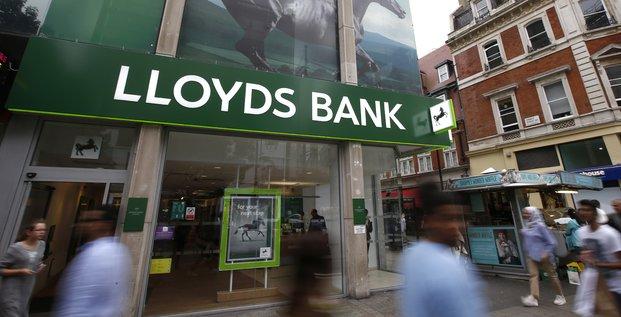 Lloyds Bank, banque britannique, Royaume-Uni, Oxford Street, Londres, UK,