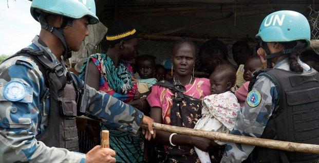 L'action des casques bleus au soudan du sud en question
