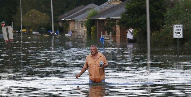 Inondations en Louisiane